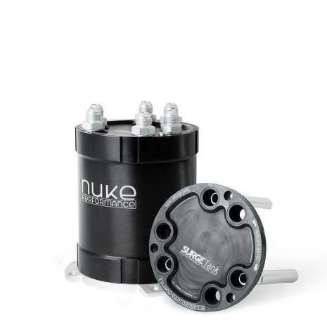2G Fuel Surge Tank 2.0 liter for up to three external fuel pumps